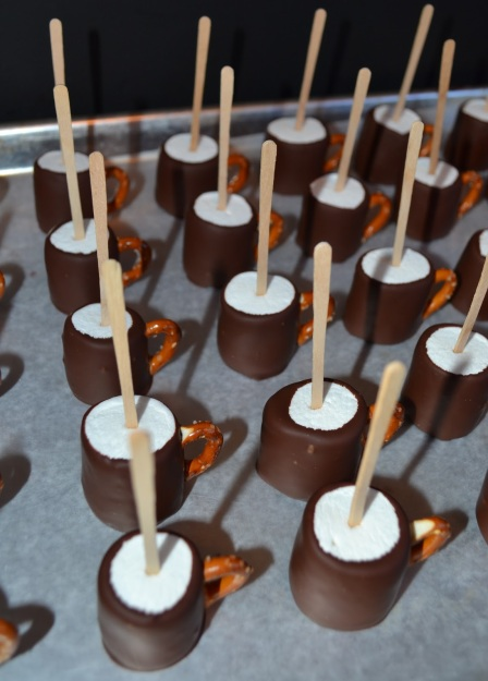 Black Tie Marshmellows