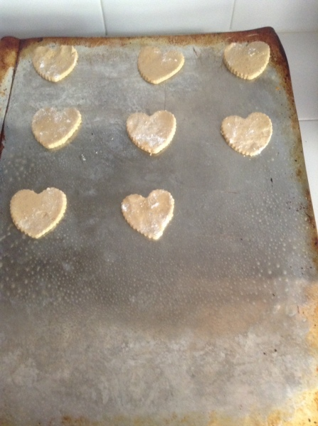 Shortbread Vday Cookies